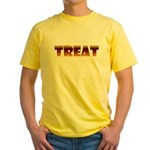 Glowing Treat Yellow T-Shirt