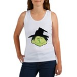Happy Green Witch Women's Tank Top