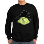 Happy Green Witch Dark Sweatshirt (dark)