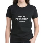 this is my rock star costume Women's Dark T-Shirt