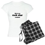 this is my rock star costume Women's Light Pajamas