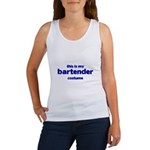 this is my bartender costume Women's Tank Top