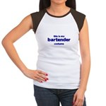 this is my bartender costume Women's Cap Sleeve T-Shirt