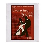 Retro Inspired DWTS Poster Stadium Blanket