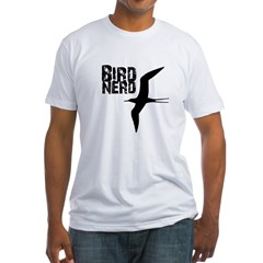 Bird Nerd (Frigatebird) Fitted T-Shirt