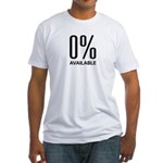 0% Available Fitted T-Shirt