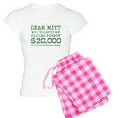 Mitt Will You Adopt Me? Women's Light Pajamas