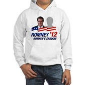 Anti-Romney Shadow Hooded Sweatshirt