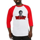 Anti-Romney: Unfit To Serve Baseball Jersey