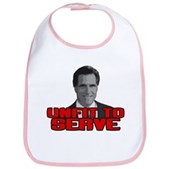 Anti-Romney: Unfit To Serve Bib