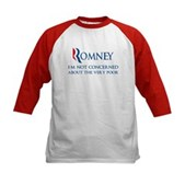 Anti-Romney: Very Poor Kids Baseball Jersey