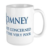 Anti-Romney: Very Poor Large Mug