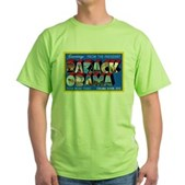 Greetings from the President Green T-Shirt