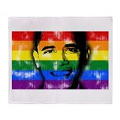 LGBT for Obama Stadium Blanket
