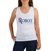 Anti-Romney ROBOT Women's Tank Top