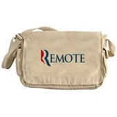 Anti-Romney Remote Messenger Bag