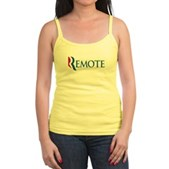 Anti-Romney Remote Jr. Spaghetti Tank