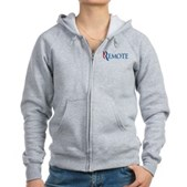 Anti-Romney Remote Women's Zip Hoodie