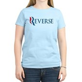 Anti-Romney Reverse Women's Light T-Shirt