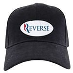 This anti-Romney design is a spoof of the Mitt Romney 2012 campaign logo. Instead of the candidate's name, we have the word REVERSE. That's the direction we'll go with a Romney win in November. No no!