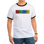 Teacher made of Elements colors Ringer T