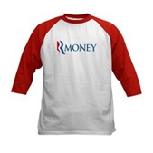 Anti-Romney RMONEY Kids Baseball Jersey