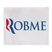 Anti-Romney Robme Stadium Blanket