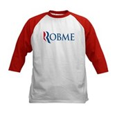 Anti-Romney Robme Kids Baseball Jersey