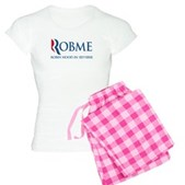 Anti-Romney Rob Me Robin Hood Women's Light Pajama