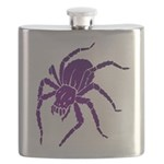 Purple Spider Flask
