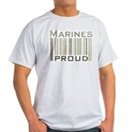 Marines Proud Military Light T-Shirt