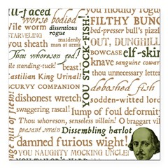 Shakespeare Insults T-shirts & Gifts Square Car Magnet 3