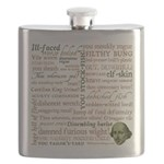 Shakespeare Insults T-shirts & Gifts Flask