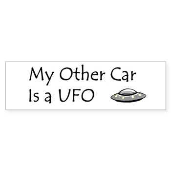 My Other Car Is a UFO