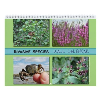 Invasive Species Weblog ISW 2009 wall calendar