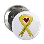 Keep My Daughter Safe Yellow Ribbon Button