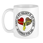 Part of my Heart is at Home Mug