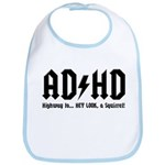 AD/HD Look a Squirrel Bib