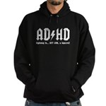 AD/HD Look a Squirrel Hoodie (dark)