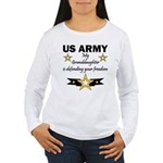 Army Granddaughter Defending Freedom Women's Long