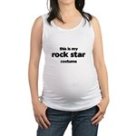 this is my rock star costume Maternity Tank Top
