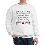 Coast Guard Poem of Love Sweatshirt