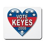 Vote Alan Keyes 2008 Political Mousepad