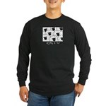 Long Sleeve Dark T-Shirt : Sizes Small,Medium,Large,X-Large,2X-Large,3X-Large,4X-Large  Available colors: Black,Navy