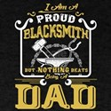 Blacksmith Shirt - Blacksmith Dad T-Shirt T-Shirt