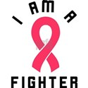I Am A Fighter White T-Shirt