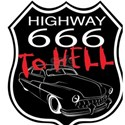 Highway 666 To Hell T-Shirt
