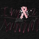 I Am A Survivor Pink Ribbon Design T-Shirt
