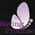 Saving Promise Butterfly on White T-Shirt