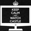 Keep Calm and Watch Castle T-Shirt